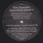 TERRE THAEMLITZ - Soulnessless EP 2 (DJ Sprinkles Remix) : 12inch