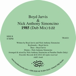 BOYD JARVIS & NICK ANTHONY SIMONCINO - 1985 : TRAVELLER RECORDS (FIN)