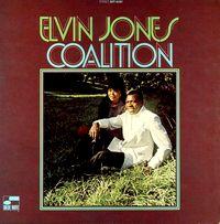 ELVIN JONES - Coalition : LP