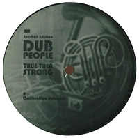 DUB PEOPLE - True Then Strong EP : 12inch