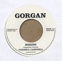 CORNELL CAMPBELL - Boxing/ My Baby Don't Care : 7inch