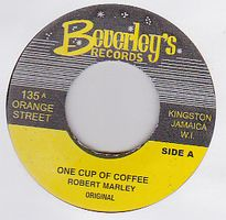 ROBERT MARLEY/ TOMMY McCOOK & THE SUPERSONICS - One Cup Of Coffee : 7inch