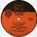 RAP DYNASTY - Street Rock / I'm Mad As Hell : 12inch