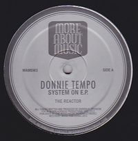 DONNIE TEMPO - Systems On EP : 12inch