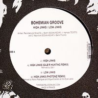 BOHEMIAN GROOVE - High Jinks : THRONE OF BLOOD (US)