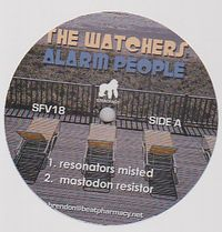 THE WATCHERS - Alarm People : 12inch