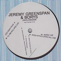 JEREMY GREENSPAN & BORYS - God Told Me To EP : 12inch