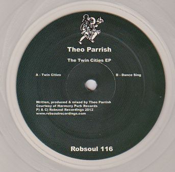 THEO PARRISH - The Twin Cities EP Clear Vinyl Edition : ROBSOUL (FRA)