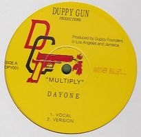 DUPPY GUN - Multiply/Earth : 12inch