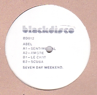 ABEL - Seven Day Weekend : BLACKDISCO (US)