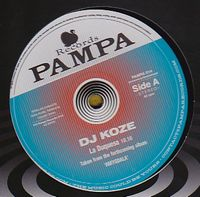 DJ KOZE - La Duquesa, Burn With Me : 12inch