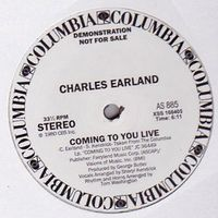 CHARLES EARLAND - Coming To You Live : 12inch