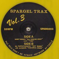 VARIOUS - Spargel Trax Vol. 3 : 12inch