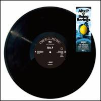 ALTZ.P / BEING BORINGS - Dodop / The Romance Edit Sculptors : 12inch