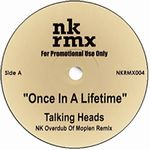 TALKING HEADS / YELLO - Once In A Lifetime / Bostich : WHITE (JPN)