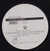IRON CURTIS - Horses Remixes : 12inch