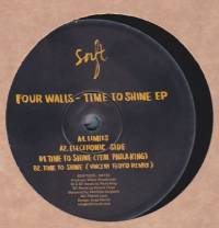 FOUR WALLS - Time To Shine EP : 12inch