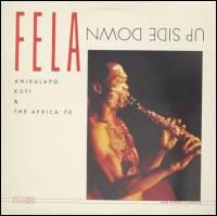 FELA KUTI & AFRICA 70 - Up Side Down : LP