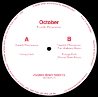 OCTOBER - Unstable Phenomenon : 12inch