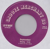 JODESHA AND STAR RIDE/SEPTEMBER - GROOVE MERCHANT 7'' : 7inch