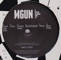 MGUN - If You're Reading This Ep : 12inch