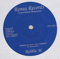 ROBBIE M - I Wanna Be With You Tonight (Vocal/Inst) : 7inch