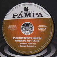 DURERSTUBEN - Sheet Of Rane : 12inch