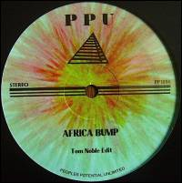 TOM NOBLE - Africa Bump / Party Together : 12inch