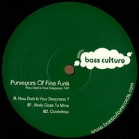 PUVEYORS OF FINE FUNK - How Dark is Your Deepness : 12inch