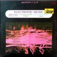 John Cage, Luciano Berio, Ilhan Mimaroglu - Electronic Music : LP