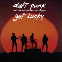 DAFT PUNK - Get Lucky -12 remixes- : 12inch×2