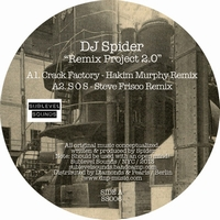 DJ SPIDER - Remix Project 2.0 : Sublevel Sounds (US) : 12inch