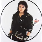 MICHAEL JACKSON - Bad (Picture disc) : EPIC (UK)