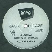 LEGOWELT - Elementz Of Houz Music (Actress rmxs) : 12inch