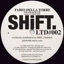 FABIO DELLA TORRE - Dramage EP (DJ SPIDER NYC Remix) : 12inch