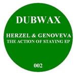 HERZEL & GENOVEVA - the action of staying ep : 12inch