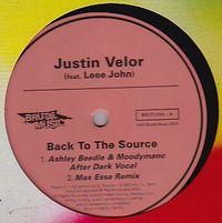 JUSTIN VELOR - Back To The Source Remixes : BRUTAL MUSIC (UK)