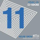 DJ KENJEE - Housegrow The 11th Anniversary Mix : MINORITY <wbr>(JPN)