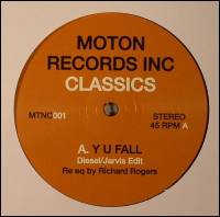 MOTON RECORDS INC - Moton Records Inc Classic'S Vol 1 : MOTON (UK)