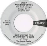 YOUNG SOULS - Quit Waiting For Tomorrow / Puppet : 7inch