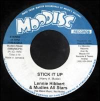 LENNIE HIBBERT & MUDIES ALL STARS - Stick It Up : 7inch