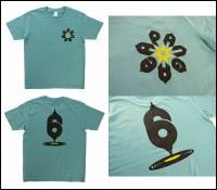 PANGAEA × QOTAROO - PANGAEA 6th Anniversary T-Shirt セージブルー L : T-SHIRT