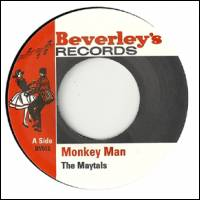 TOOTS & THE MAYTALS - Monkey Man : 7inch