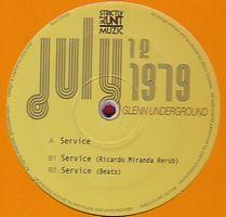 GLENN UNDERGROUND - Service Remixes : 12inch