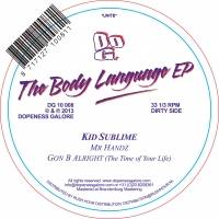 KID SUBLIME - The Body Language EP : 12inch