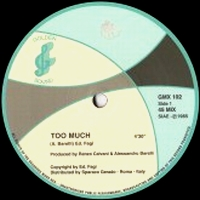 BYRON - Too Much : 12inch