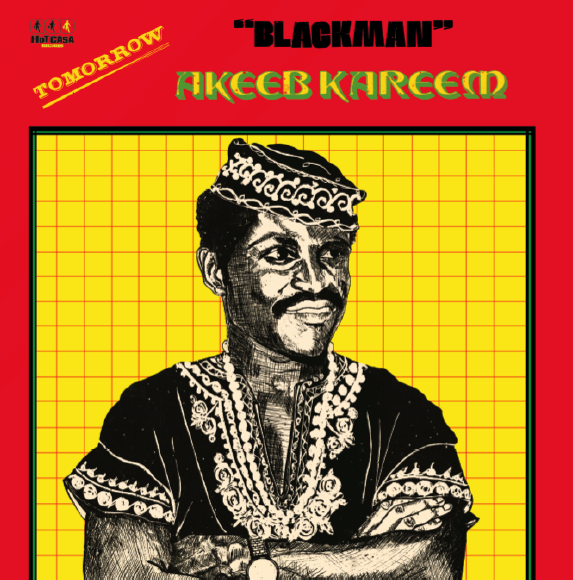 'BLACKMAN' AKEEB KAREEM - Tomorrow : LP