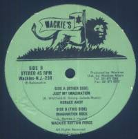 HORACE ANDY, WACKIES RHYTHM FORCE - Just My Imagination / Imagination Rock : 12inch