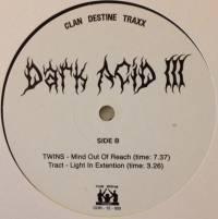 VARIOUS - Dark Acid III : CLAN DESTINE (UK)