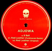 ADJOWA - 8 ball / Red Leather   : 12inch